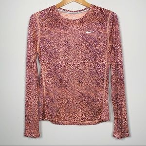 NIKE Running Dri-Fit Long Sleeve Shirt M
